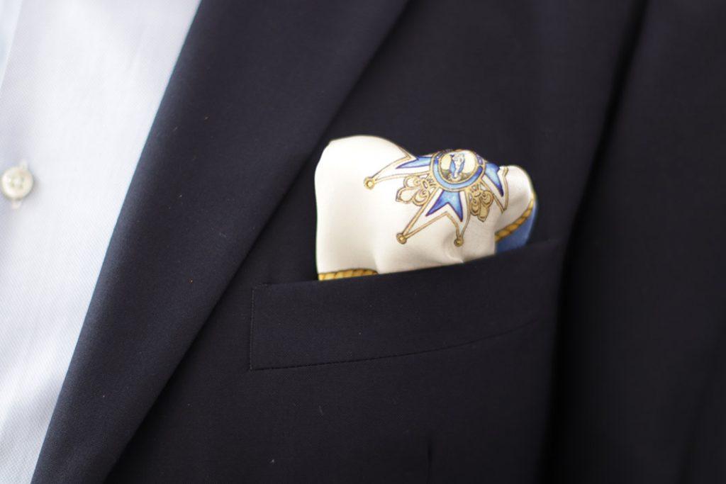 Pañuelo de bolsillo casual para combinar con el traje