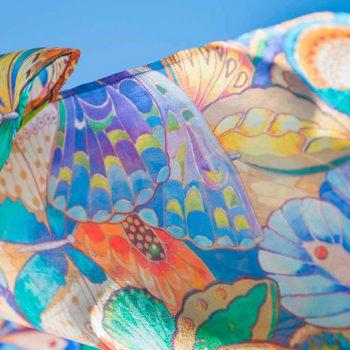 Silk scarf habotai 5 MM